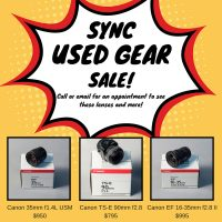 SYNC Used Gear Sale!